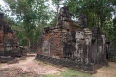 Siem Przeprowadza żniwa, Kambodża, Dec - 13 2016: Krol Ko w Angkor sławny h Zdjęcie Stock