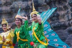 SIEM PRZEPROWADZAJĄ ŻNIWA, Feb 24, 2015: Niezidentyfikowani cambodians w na Zdjęcia Royalty Free