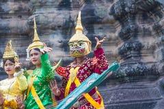 SIEM PRZEPROWADZAJĄ ŻNIWA, Feb 24, 2015: Niezidentyfikowani cambodians w na Zdjęcie Stock