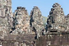 Siem Reap, Камбоджа - 11-ое декабря 2016: Висок Bayon в Angkor Thom Стоковое Изображение RF