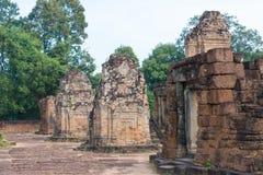 Siem Reap, Камбоджа - 11-ое декабря 2016: Восточное Mebon в Angkor famou Стоковые Изображения RF