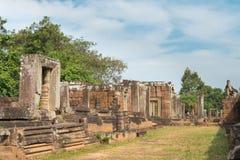 Siem Reap, Камбоджа - 11-ое декабря 2016: Восточное Mebon в Angkor famou Стоковое Изображение RF