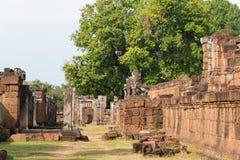 Siem Reap, Камбоджа - 11-ое декабря 2016: Восточное Mebon в Angkor famou Стоковые Фотографии RF