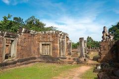 Siem Reap, Камбоджа - 11-ое декабря 2016: Восточное Mebon в Angkor famou Стоковое Фото