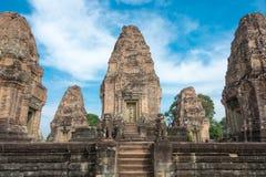 Siem Reap, Камбоджа - 11-ое декабря 2016: Восточное Mebon в Angkor famou Стоковое фото RF