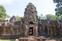 Siem Reap, Камбоджа - 11-ое декабря 2016: Сом животиков в Angkor известная высокая Стоковая Фотография RF