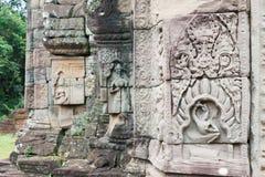 Siem Reap, Камбоджа - 13-ое декабря 2016: Prasat Prei в Angkor famo Стоковые Изображения RF