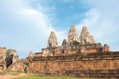 Siem Reap, Камбоджа - 11-ое декабря 2016: Pre Rup в Angkor известный h Стоковые Изображения