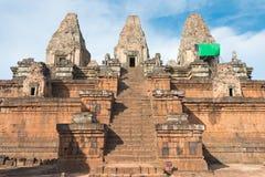 Siem Reap, Камбоджа - 11-ое декабря 2016: Pre Rup в Angkor известный h Стоковая Фотография RF
