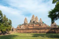 Siem Reap, Камбоджа - 11-ое декабря 2016: Pre Rup в Angkor известный h Стоковое Фото