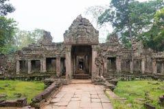 Siem Reap, Камбоджа - 13-ое декабря 2016: Preah Khan в Angkor famou Стоковое Изображение RF