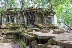 Siem Reap, Камбоджа - 3-ье декабря 2016: Beng Mealea известное Histori стоковое изображение rf