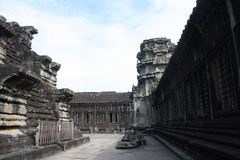 Siem reap angkor wat. Angkor Wat temple in Siem Reap Cambodia royalty free stock photo