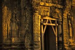 Siem Reap Angkor Wat Phnom Bakheng sunrise. Hilltop sunset UNESCO dawn Stock Photos