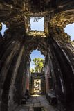 Siem Reap Angkor Wat Preah Khan ist ein Tempel bei Angkor, Kambodscha, im 12. Jahrhundert für König Jayavarman VII errichtet Stockfoto