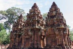 Siem Reap Banteay Srei or Lady Temple, Royalty Free Stock Photos