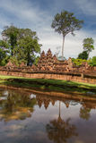 Siem Reap Banteay Srei or Lady Temple, Stock Photography
