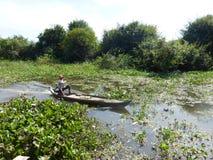 Siem Reap a Battambang/al barco - exprese/Camboya imagenes de archivo