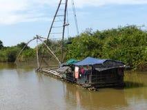 Siem Reap a Battambang/al barco - exprese/Camboya fotos de archivo libres de regalías