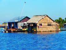 Siem Reap a Battambang/barca - esprima/Cambogia Immagine Stock Libera da Diritti