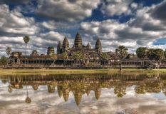 Siem Reap, Cambodge Temple d'Angkor Vat Photographie stock libre de droits