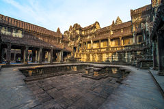 Siem Reap, Cambodia ancient architecture Royalty Free Stock Images