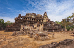 SIEM REAP, CAMBODIA.  The Baphuon is a temple at Angkor Thom. Royalty Free Stock Photo