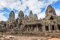 Bayon Temple - Angkor Wat - Siem Reap - Cambodia Royalty Free Stock Photos