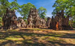 SIEM REAP, CAMBODIA. Chau Say Tevoda Temple Royalty Free Stock Photos