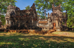 SIEM REAP, CAMBODIA. Chau Say Tevoda Temple Royalty Free Stock Photo