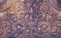 Banteay Srei Temple in Cambodia Stock Photos