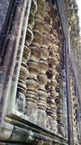 Siem Reap Cambodia Temple Wall Royalty Free Stock Images
