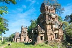 Siem Reap Cambodja - December 08 2016: Khleang i Angkor Thom en fam Arkivbild