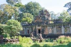 Siem Reap Cambodja - December 08 2016: Khleang i Angkor Thom en fam Royaltyfri Fotografi