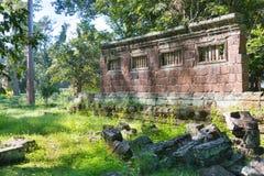 Siem Reap Cambodja - December 08 2016: Khleang i Angkor Thom en fam Arkivfoto