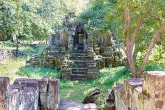 Siem Reap Cambodja - December 08 2016: Khleang i Angkor Thom en fam Fotografering för Bildbyråer