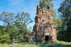 Siem Reap Cambodja - December 08 2016: Prasat Suor Prat i Angkor Th Fotografering för Bildbyråer