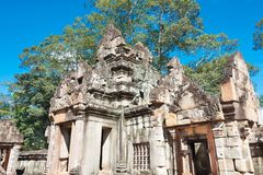 Siem Reap, Camboja - 30 de novembro de 2016: Ta Keo Temple em Angkor um fá Imagens de Stock Royalty Free