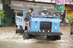 Siem Reap flooding Stock Image