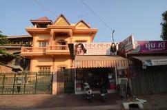 Siem Reap morgon arkivbild