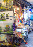 At Siem Reap night market in Cambodia Stock Photography
