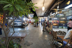 Siem Reap Pub Street royalty free stock photography
