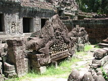 Siem Reap ruins. Photo of ruins at a temple near siem reap in cambodia, asia Stock Photos