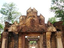 Siem Reap Ruins 2. Photo of ruins at a temple near siem reap in cambodia, asia Stock Photos