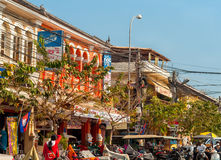 Siem Reap street Royalty Free Stock Photo