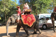 Siem Reap street view Royalty Free Stock Photo