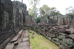 Siem Reap  temple in Cambodia Royalty Free Stock Photography