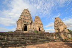 Siem Reap  temple in Cambodia Royalty Free Stock Photos