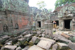 Siem Reap  temple in Cambodia Stock Photography