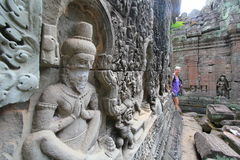 Siem Reap  temple in Cambodia Stock Images